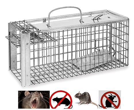 Jaula de metal grande para ratas de ratón, con forma de gato de ...