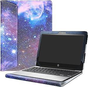 "Alapmk Protective Case for 11.6"" HP Chromebook 11 G5/HP Chromebook 11 11-vXXX & Lenovo IdeaPad 3 CB 11IGL05/Lenovo Chromebook 3 11 Laptop(Not fit HP Chromebook 11 G8 EE/G7 EE/G6 EE/G5 EE/G4),Galaxy"