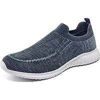 TIOSEBON Zapatillas sin Cordones Mocasines para Hombre Casuales Zapatillas de Deporte