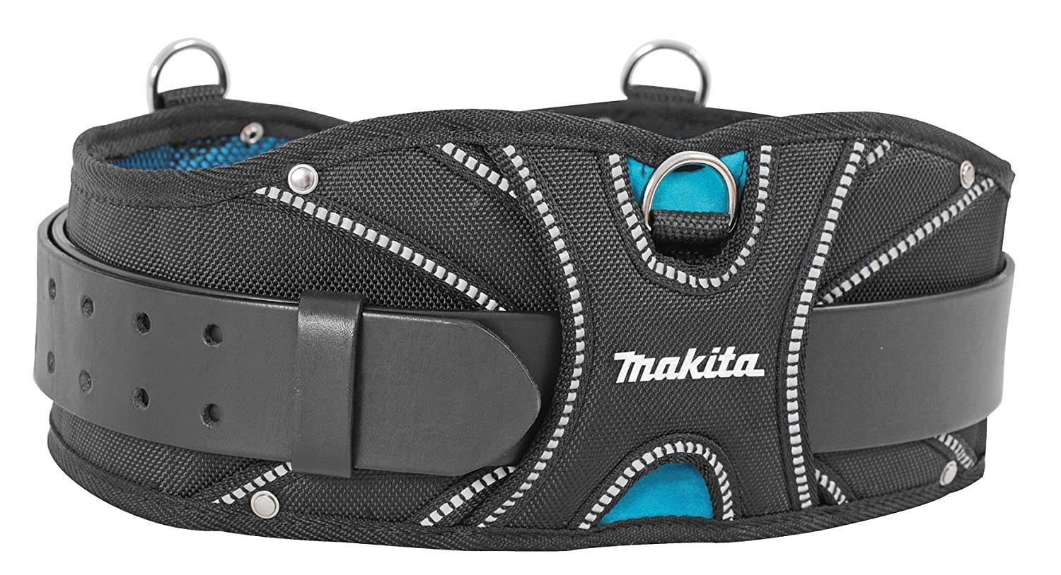 Makita P-71819 Professional Workers' Belt Super-Heavyweight Leather, Black