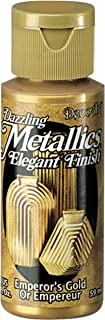 product image for DecoArt Dazzling Metallics 2-Ounce Emperor's Gold Acrylic Paint