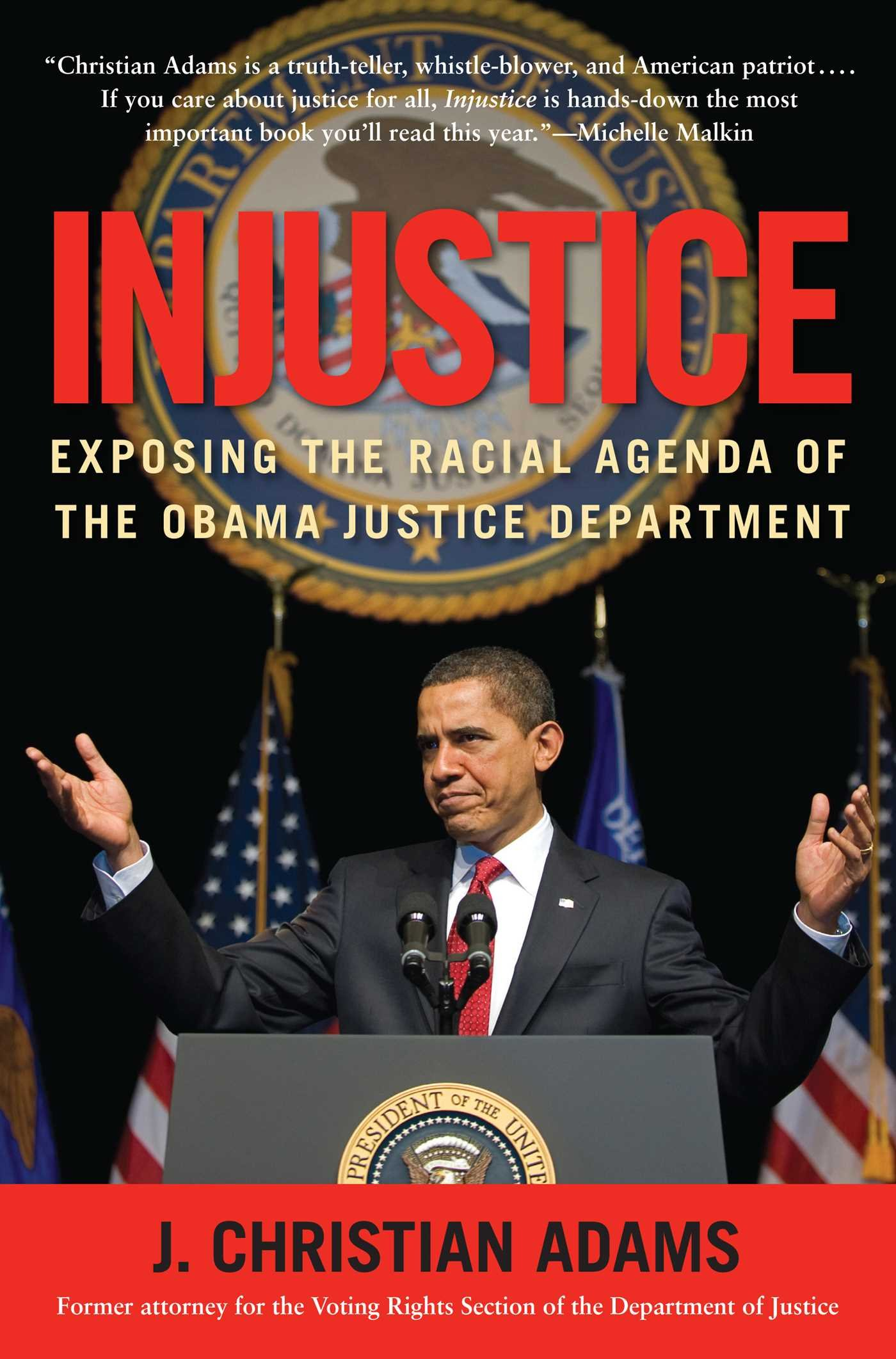 Download Injustice: Exposing the Racial Agenda of the Obama Justice Department pdf