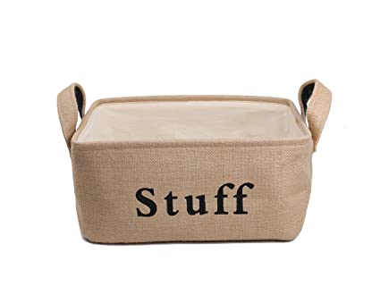 Amazon.com: DOLDOA Large Toys Storage Basket,Rectangle Foldable ...