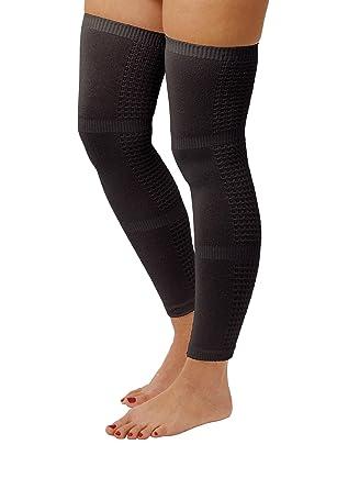 9a6da21164b28 Travel Flight Compression Leggings Socks Stockings (Black): Amazon ...