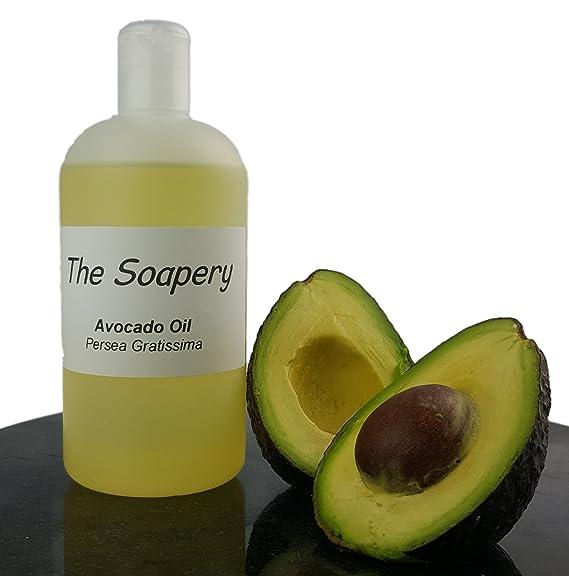 Aceite de Aguacate - 250 ml refinado cosmético para masaje ...