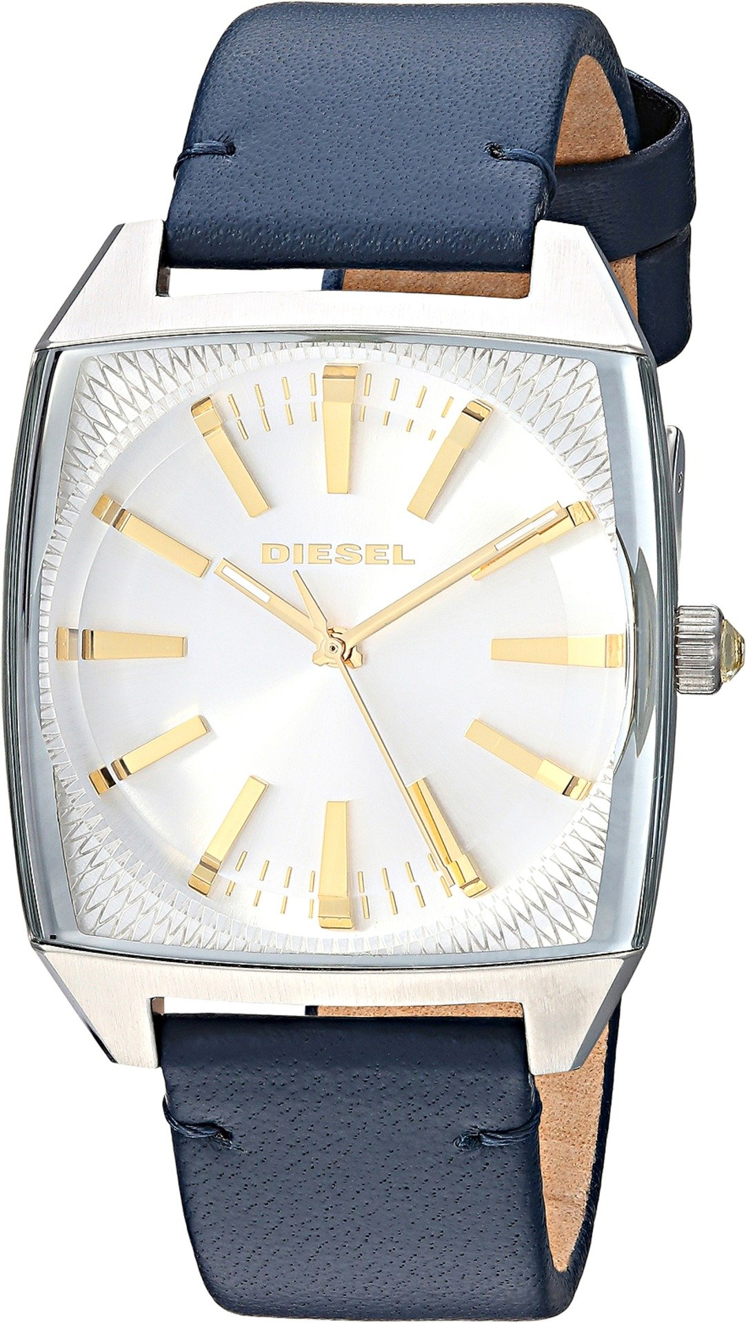 Diesel Women's Becky Stainless-Steel and Blue Leather Watch DZ5561