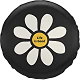 Life is good Tire Cover New Daisy Lig