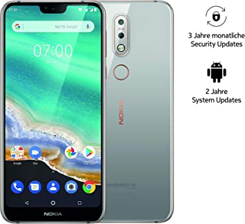 Nokia 7.1 Dual SIM Smartphone (5,84 Pulgadas Full HD Display, 32 ...