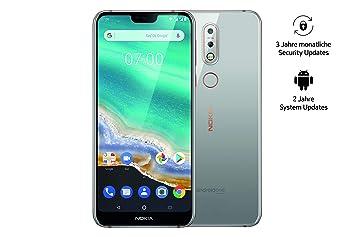 079136b171a Nokia 7.1 Dual SIM Smartphone (5,84 Pulgadas Full HD Display, 32 GB de  Memoria Interna, Android 9.0): Amazon.es: Electrónica