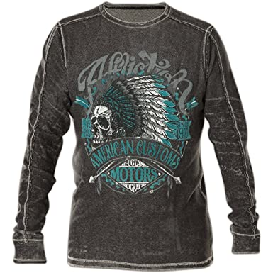 61bac8393a Affliction AC Vision Quest Reversible Thermal 3XL at Amazon Men's ...