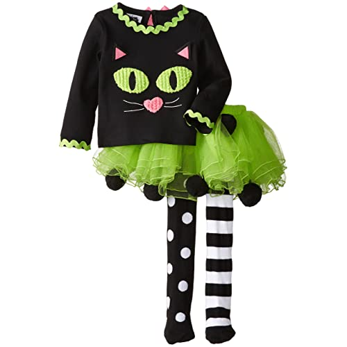 Mud Pie Little Girls Cat Tutu Set