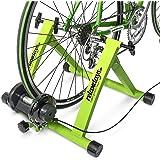 Relaxdays, Convierte Bicicleta común a estática, Mide: 54 x 46 x 20 cm, Azul, Unisex Adulto