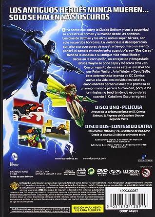 Amazon.com: Dcu: El Regreso Del Caballero Oscuro - Primera Parte (Import Movie) (European Format - Zone 2) (2012) Perso: Movies & TV