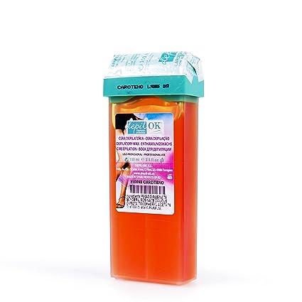 Depil OK Cera tinta zanahoria 100 ml