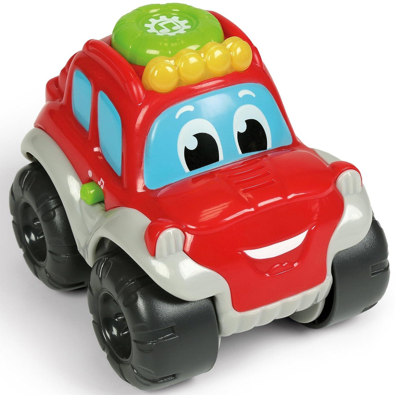 Unbekannt Baby Safari Jeep mit Rückzugsmotor 12 cm Licht und Sound ab 1 Jahr • 12cm Spielzeug Auto Off-Road Rückzug Spielauto Fahrzeuge Siehe Beschreibung