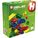 Hubelino - Marble Run - Midsize Set - 50pcs - Age 3+ (100% compatible with Duplo)