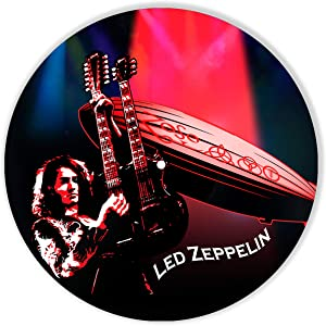 Led Zeppelin Vinyl Decor, Wall Decor Painted Led Zeppelin, Original Gifts for Music Lovers, The Best Gift for Souvenir, Unique Wall Art Home Decor