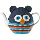 """Ulster Weavers 13.8"""" x 10.6"""" Owl Knitted Tea Cosy"""