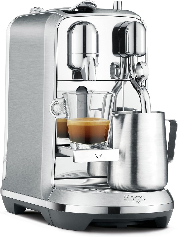 Sage Appliances SNE800BSS4EGE1 the Creatista Plus - Máquina de café Nespresso, 1600 ml, 1 L, acero inoxidable cepillado: Amazon.es: Hogar