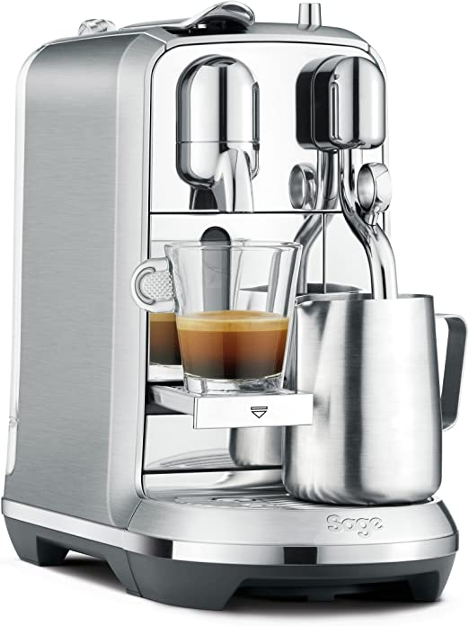Sage Appliances the Creatista Plus Cafetera Nespresso, Acero ...