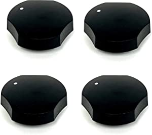 74009592 Replacement Knob for Whirlpool/JennAir Stove/Range 1032643, 71003477, AH2087006, EA2087006, PS2087006, WPL74009592 WP74009592 4 Pack