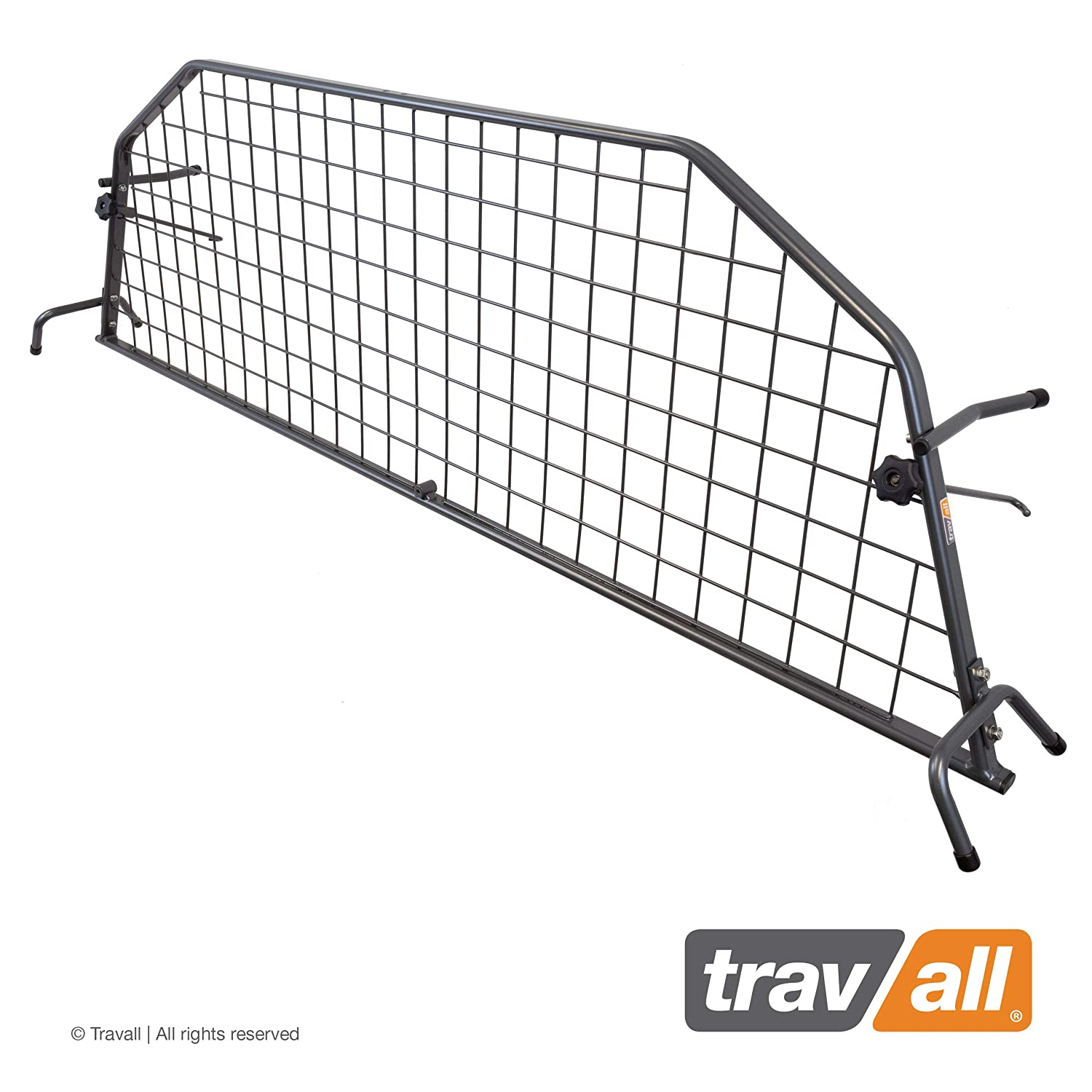 Travall Guard Compatible with Toyota Land Cruiser 2003-2009 TDG1124 – Rattle-Free Steel Pet Barrier