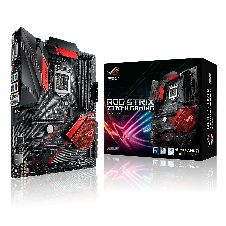 Amazon.com: Asus ROG STRIX Z370-H DDR4 ATX Gaming ...