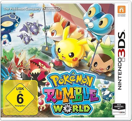 Nintendo Pokémon Rumble World - Juego (Nintendo 3DS, Soporte físico, Acción / Aventura, Básico, Nintendo): Amazon.es: Videojuegos