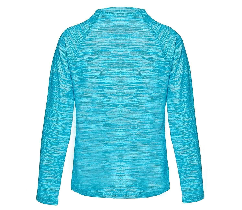 LEINASEN Rash Guards Shirt for Girls Sun Protective Long Sleeve Swimsuit Top UPF 50