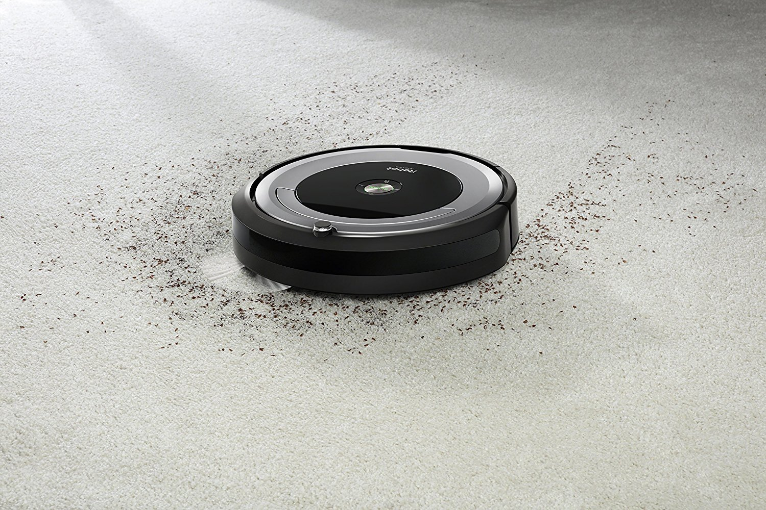 iRobot Roomba 690 Wi-Fi Connected Robotic Vacuum Cleaner + 1 Dual Mode Virtual Wall Barrier (With Batteries) + Extra Filter + More by iRobot (Image #2)