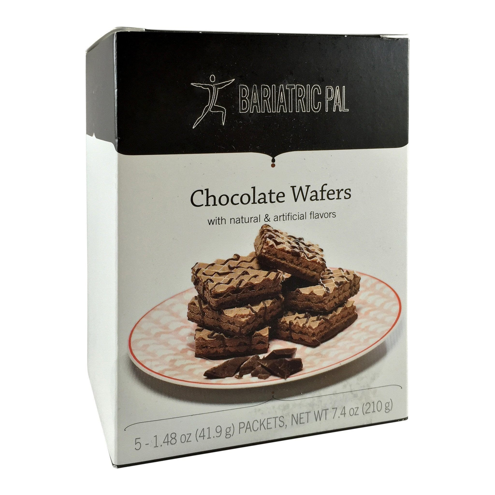 BariatricPal Square Protein Wafers - Chocolate One Box