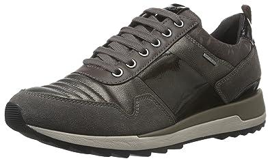 Damen D Aneko B ABX A D643FA022BN Sneakers, Schwarz (BLACKC9999), 39 EU Geox
