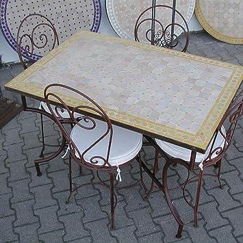 Casa Moro MT2121 Table de Jardin rectangulaire en mosaïque ...