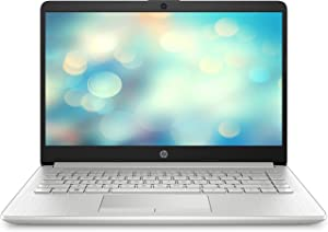 HP 14 Slim Ryzen 3 3200U, AMD Radeon Vega 3 Graphics, 4GB SDRAM,128GB SSD, Whisper Silver 14-dk0022wm