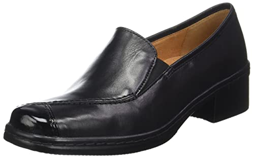 Womens Comfort Basic Derbys, Black Gabor