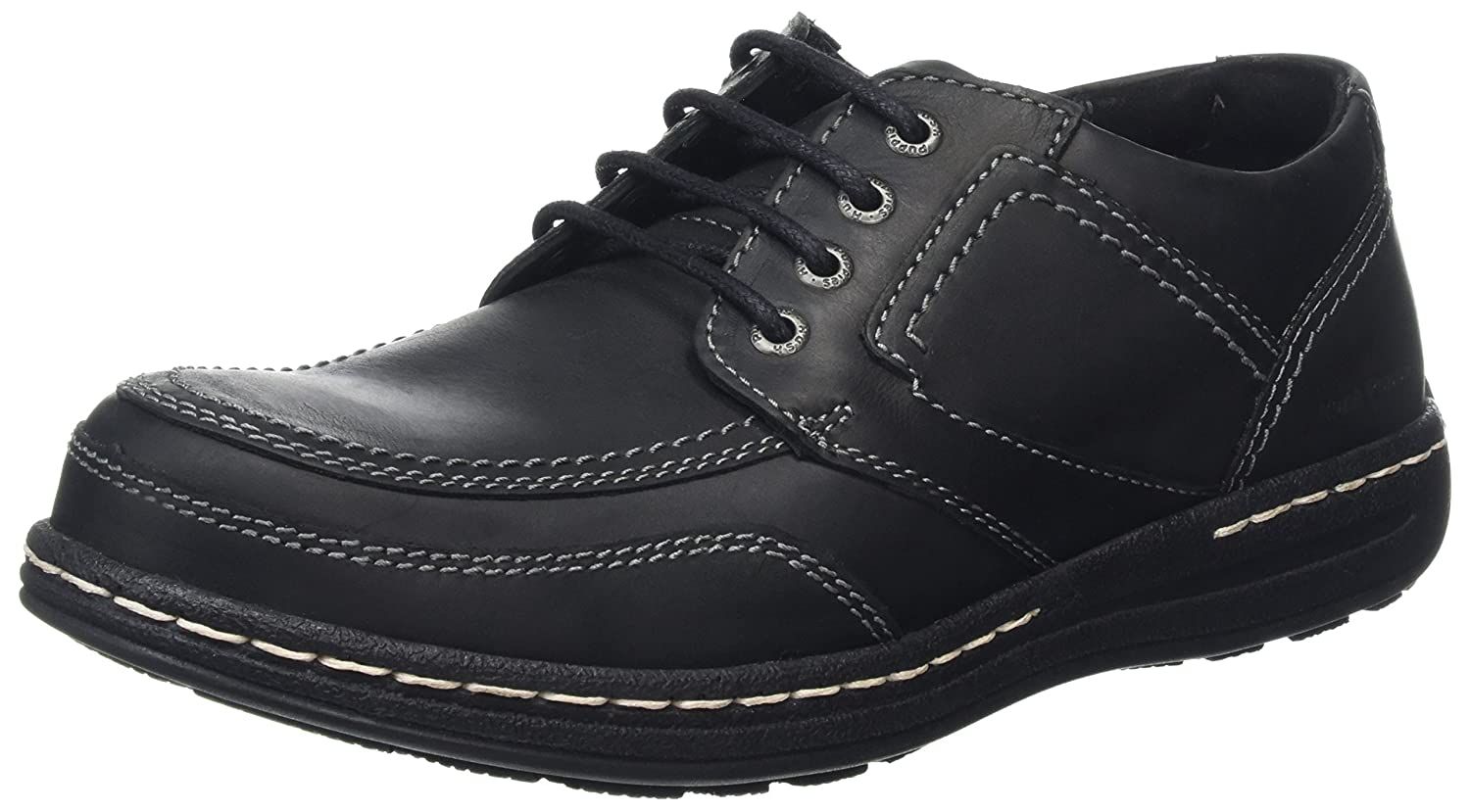 TALLA 41 EU. Hush Puppies Volley Victory, Zapatos de Cordones Derby para Hombre