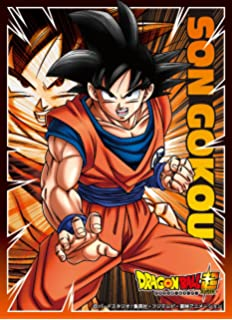 Dragon Ball Super Son Goku Card Game Character Sleeves Collection EN-159 Anime Saiyan Husbando