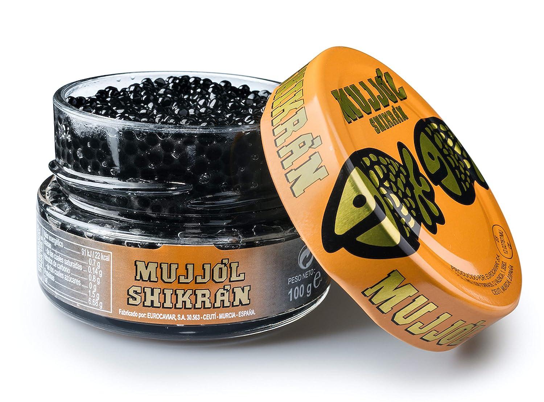 Eurocaviar - Shikran - Mullet Roe Caviar Pearls Black, 3.52 oz [100 g]