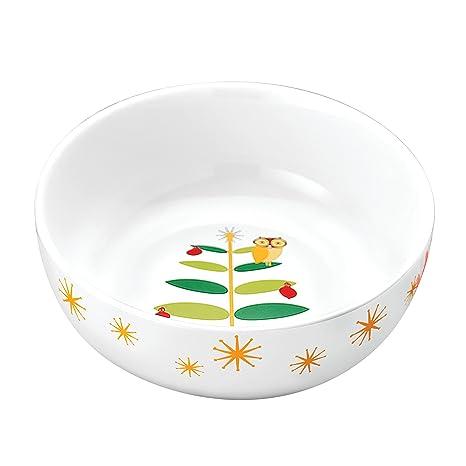 Rachael Ray Dinnerware Holiday Hoot 10-Inch Round Serving Bowl  sc 1 st  Amazon.com & Amazon.com | Rachael Ray Dinnerware Holiday Hoot 10-Inch Round ...