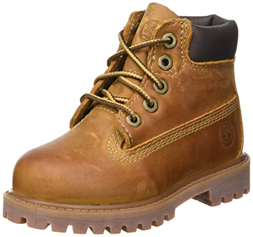 "Timberland Authentic 6"" Waterproof Botas, Marrón (Brown Smooth), ..."