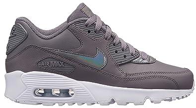super popular 28038 94863 Nike Damen Air Max 90 Ltr (gs) Sneakers Mehrfarbig GunsmokeWhite 001,