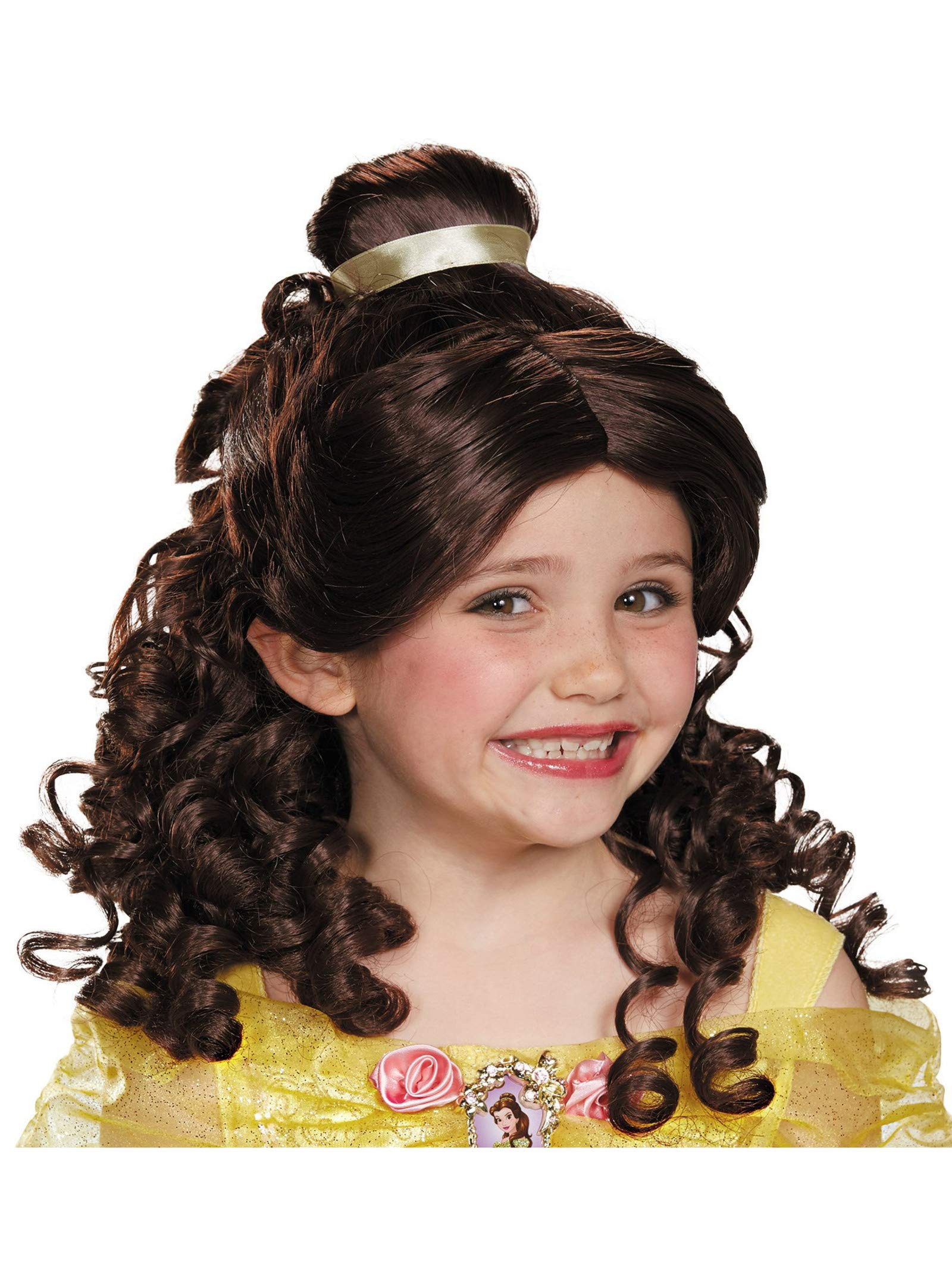 Disney Princess Belle Beauty & the Beast Girls' Wig by Disguise