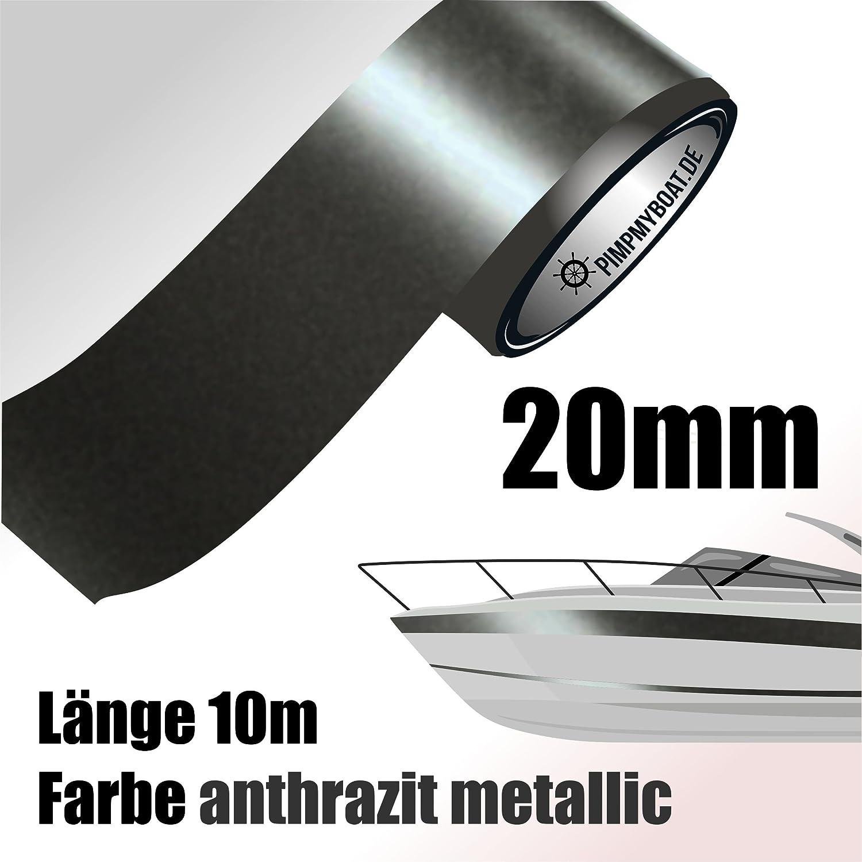 ROT 10 Meter f/ür Auto Boot Motorrad und Modellbau Doppel Zierstreifen 12 mm aufgeteilt in 6 mm Streifen + 3 mm ABSTAND + 3 mm Streifen