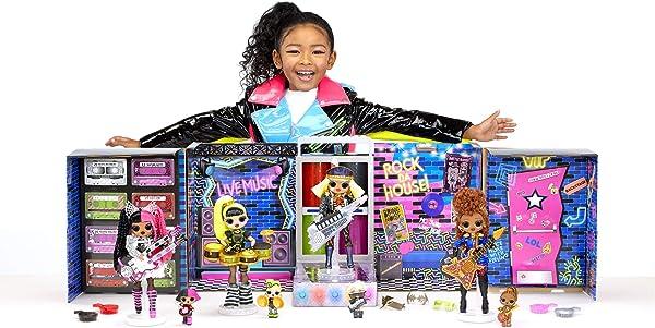 L.O.L. Surprise! O.M.G. Remix Super Surprise collectible fashion dolls toy for kids