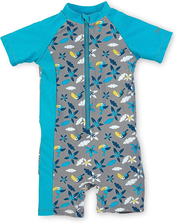 Sterntaler Kinder Kurzarm-Schwimmshirt Gr/ö/ße: 110//116 UV-Schutz 50+ Alter: 4-6 Jahre Farbe: Magenta