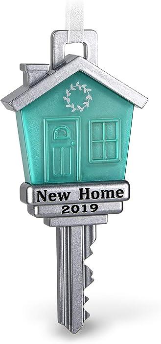 Hallmark Keepsake Christmas Ornament 2019 Year Dated New Home Metal