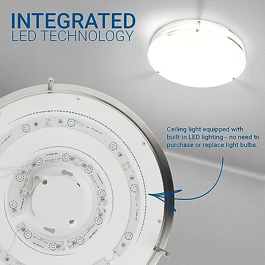 Hyperikon LED Flush Mount Ceiling Light, 14\