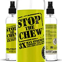 Emmy's Best Stop The Chew 3X Strength Anti Chew Bitter Spray Deterrent for Dogs & Puppies…