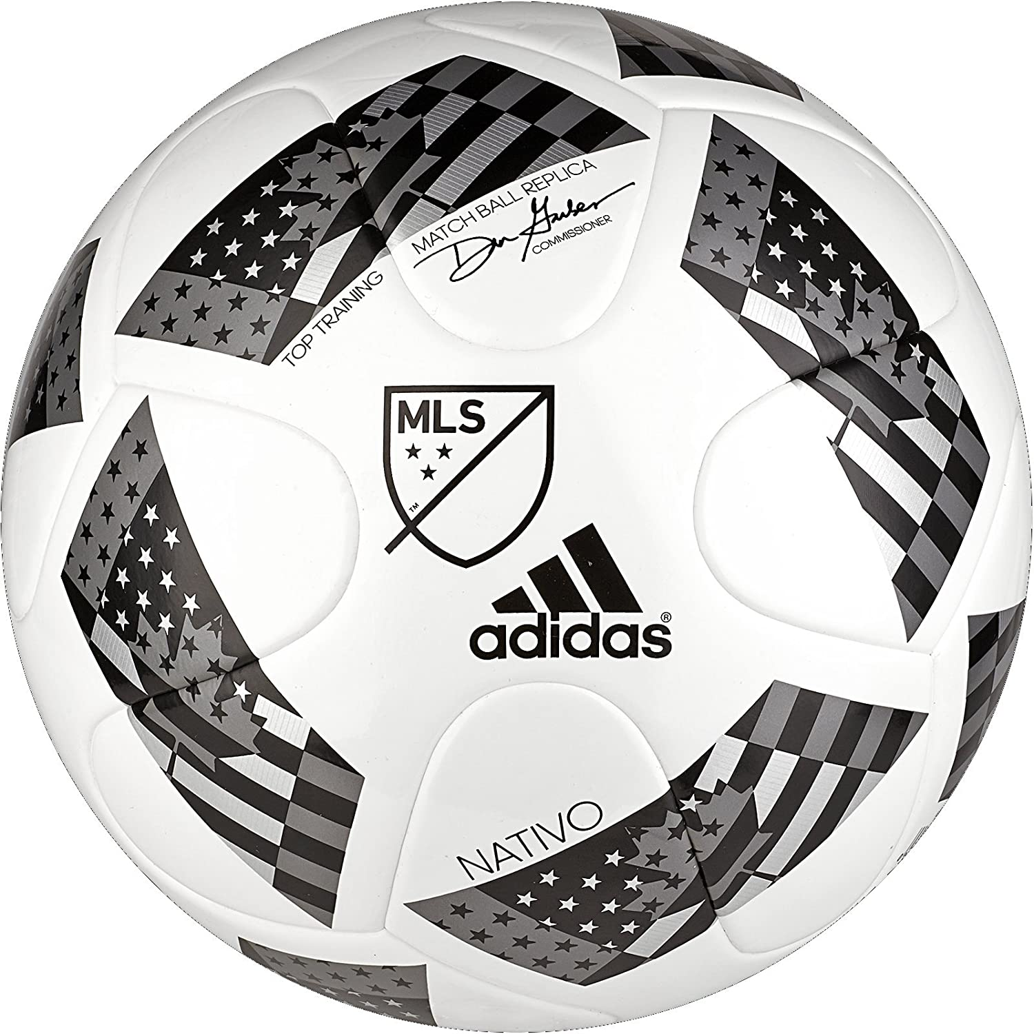 reputable site 5720d 40187 Amazon.com   adidas MLS Top Training NFHS Ball   Sports   Outdoors