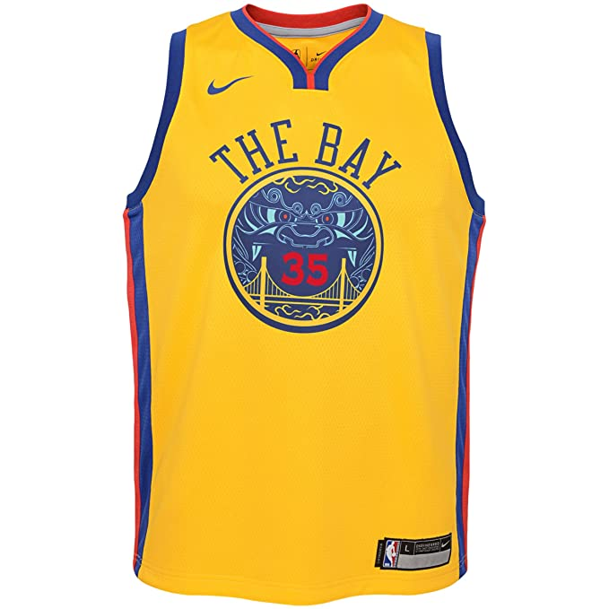 Nike NBA Golden State Warriors Stephen Curry 30 SC30 2017 2018 City Edition Jersey Official, Camiseta de Niño: Amazon.es: Ropa y accesorios
